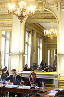 PARIS LE 09/ 01/ 2017<br /> CONF…RENCE DE PRESSE DE VAL…RIE PRECRESSE AU SIEGE DU CONSEIL REGIONALE D'ILE DE FRANCE.