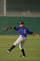 April 17, 2010: Darwin Perez of the Rancho Cucamonga Quakes before game against the Lancaster JetHawks at Clear Channel Stadium in Lancaster,CA.  Photo by Larry Goren/Four Seam Images