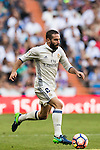 Daniel Carvajal Ramos of Real Madrid in action during their La Liga match between Real Madrid CF and SD Eibar at the Santiago Bernabéu Stadium on 02 October 2016 in Madrid, Spain. Photo by Diego Gonzalez Souto / Power Sport Images