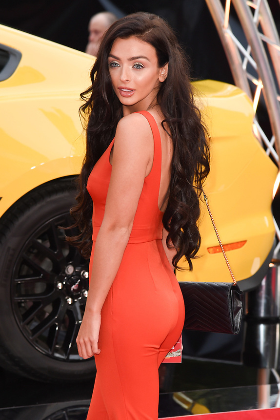 """Kady McDermott<br /> attending the premiere of """"Logan Lucky"""" at the Vue West End, Leicester Square, London. <br /> <br /> <br /> ©Ash Knotek  D3295  21/08/2017"""