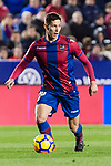 Sasa Lukic of Levante UD in action during the La Liga 2017-18 match between Levante UD and Real Madrid at Estadio Ciutat de Valencia on 03 February 2018 in Valencia, Spain. Photo by Maria Jose Segovia Carmona / Power Sport Images