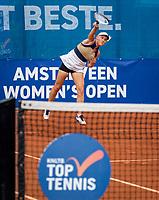 Amstelveen, Netherlands, 10 Juli, 2021, National Tennis Center, NTC, Amstelveen Womans Open, Doubles final: Suzan Lamens (NED) <br /> Photo: Henk Koster/tennisimages.com