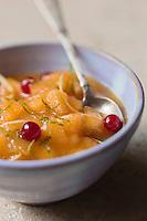 Soupe de Melon, miel  et gingembre - recette de Christian Constant  EXCLU: EDITION LIVRE CUISINE DU SUD-OUEST