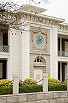 Entrance And Clock, Custom House, Shantou (Swatow).