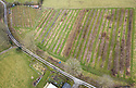 23/02/18<br /> <br /> Drone aerial view. <br /> <br /> Full Grown furniture is grown in a woodland near Wirksworth, Derbyshire. <br /> <br /> As seen here: <br /> http://www.dailymail.co.uk/news/article-5587659/Willows-transformed-seats-seven-years-available-buy-5-000.html<br /> <br /> All Rights Reserved: F Stop Press Ltd. +44(0)1335 344240  www.fstoppress.com.