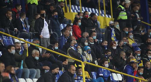 8th October 2020, Sarajevo Bosnia; European International Football Championships playoff,  Bosnia and Herzegovina versus Northern Ireland;  Bosnian fans in the stands
