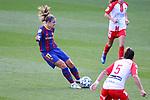 Liga IBERDROLA 2020-2021. Jornada: 10<br /> FC Barcelona vs Santa Teresa: 9-0.<br /> Alexia Putellas.