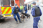 03/03/2012 National Front demo Heywood
