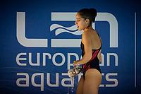 Gillet Jade FRA<br /> Diving - Women's 3m preliminary<br /> XXXV LEN European Aquatic Championships<br /> Duna Arena<br /> Budapest  - Hungary  15/5/2021<br /> Photo Giorgio Perottino / Deepbluemedia / Insidefoto