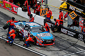 NASCAR Xfinity Series<br /> DC Solar 200<br /> ISM Raceway, Phoenix, AZ USA<br /> Saturday 10 March 2018<br /> Kyle Busch, Joe Gibbs Racing, Toyota Camry NOS pit stop<br /> World Copyright: Russell LaBounty<br /> NKP / LAT Images