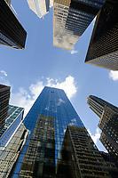 USA Chicago, downtown, skyscraper / Stadtzentrum mit Hochhaeusern