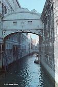 Enclosed Bridge of Venice Canal