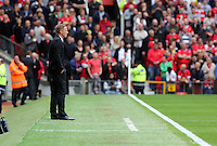 Pictured: Swansea manager Garry Monk. Saturday 16 August 2014<br />