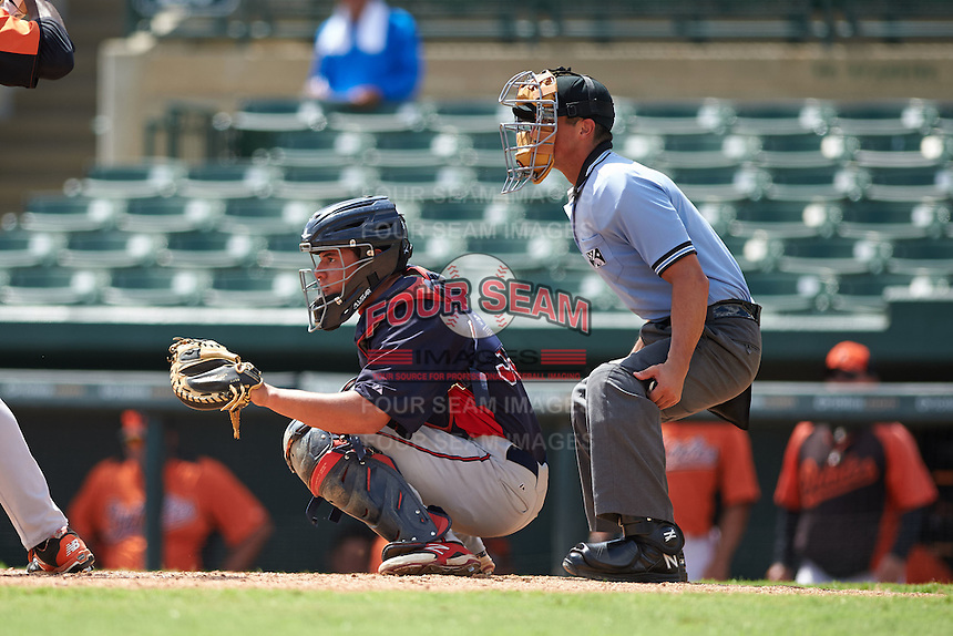 Minnesota Twins Rainis Silva (39) during an instructional league game against the Baltimore Orioles on September 22, 2015 at Ed Smith Stadium in Sarasota, Florida.  (Mike Janes/Four Seam Images)