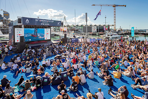 Crowd capacity limits are applied to 8 zones within the race village