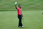 3rd June 2012 - Celtic Manor Resort - Newport - South Wales - UK :   Jaidee Thongchai of Thialand wins the ISPS Handa Wales Open Golf Tournament at the Celtic Manor Resort..