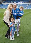 James Tavernier and family