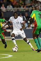 Jozy Altidore USMNT...USA defeated Guadeloupe 1-0 in Gold Cup play at LIVESTRONG Sporting Park, Kansas City, Kansas.