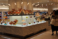 The Queens fruit store in the Isetan Sdepartment Store in Central Tokyo, Japan. The store sells some of Japans most expensive fruit.<br /><br />Photo by Richard Jones / sinopix
