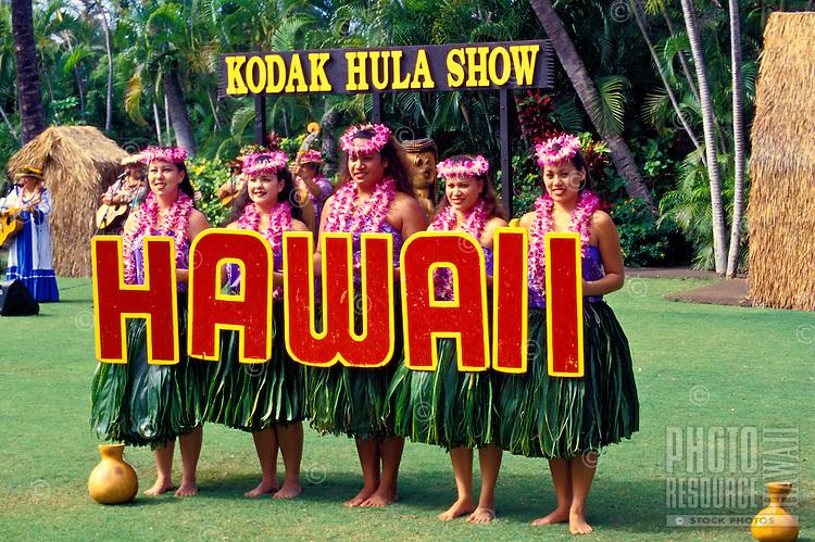 Kodak Hula Show at Waikiki on Oahu