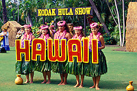 Kodak Hula Show at Waikiki on Oahu