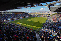 SAN JOSE, CA - SEPTEMBER 29: A general view during a Major League Soccer (MLS) match between the San Jose Earthquakes and the Seattle Sounders on September 29, 2019 at Avaya Stadium in San Jose, California.