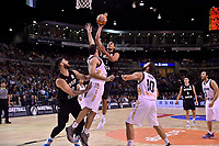 New Zealand Tall Blacks' Mika Vukona in action during the FIBA World Cup Basketball Qualifier - NZ Tall Blacks v Jordan at Horncastle Arena, Christchurch, New Zealand on Thursday 29 November  2018. <br /> Photo by Masanori Udagawa. <br /> www.photowellington.photoshelter.com