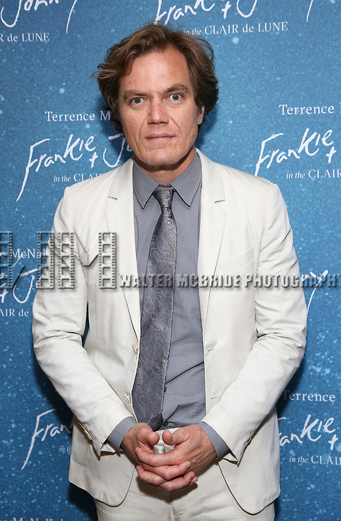 """Michael Shannon during the Opening Night After Party for """"Frankie and Johnny in the Clair de Lune"""" at the Brasserie 8 1/2 on May 29, 2019  in New York City."""