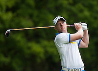 21.05.2015. Wentworth, England. BMW PGA Golf Championship. Round 1.  David Horsey [ENG] on the Par 4 3rd, during the first round of the 2015 BMW PGA Championship from The West Course Wentworth Golf Club