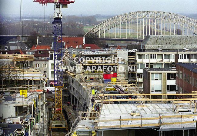 Nijmegen,110200  foto:Koos Groenewold (APA-Foto)<br />Het Marienburgproject vanuit de hoogte gezien.<br /><br />zie ook het verhaal van APA-Redaktie
