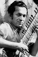 1967 File - <br /> <br /> Ravi Shankar<br /> <br /> Photo : Boris Spremo - Toronto Star archives - AQP