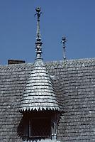 Europe/France/Normandie/Basse-Normandie/50/Manche/Mont Saint-Michel: Le toit