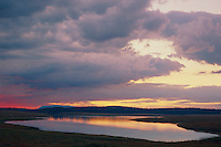 Sunrise at Big Lake<br /> Apache National Forest<br /> White Mountains<br /> Arizona