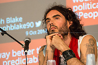 """09.10.2014 - """"People's Assembly Question Time with Russell Brand"""""""