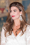Juliana Awada during the reception in honor of his majesties the Kings of Spain offered by his excellencies the president of the Argentine Republic at El Pardo Palace in Madrid, Spain. February 23, 2017. (ALTERPHOTOS/BorjaB.Hojas)