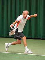 August 22, 2014, Netherlands, Amstelveen, De Kegel, National Veterans Championships, Ruurd Tjallema (NED)<br /> Photo: Tennisimages/Henk Koster