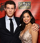 """Alistair Brammer and Eva Noblezada attends The Opening Night After Party for the New Broadway Production of """"Miss Saigon"""" at Tavern on the Green on March 23, 2017 in New York City"""