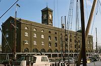 London:  St. Katherine's Dock.  Photo  2005.