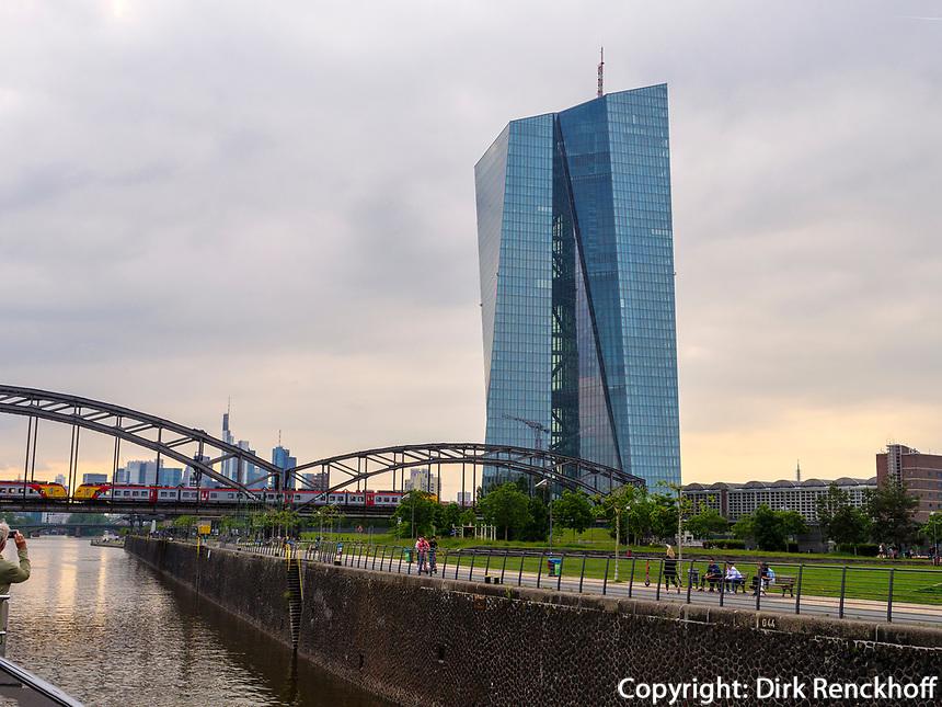 Europäische Zentralbank - EZB, Frankfurt, Hessen, Deutschland, Europa<br /> European Central Bank - ECB, Frankfurt, Hesse, Germany, Europe