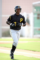 August 15, 2008: Adenson Chourio (2) of the GCL Pirates. Photo by: Chris Proctor/Four Seam Images