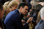 PSOE leader Pedro Sanchez attends the 70th Anniversary of United Nations ceremony at the Royal Palace in Madrid, Spain. October 29, 2015. (ALTERPHOTOS/Pool)
