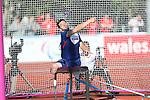 IPC European Athletics Championship 2014<br /> Nathan Stephens GBR<br /> Men's Discus Throw F57<br /> Swansea University<br /> 23.08.14<br /> ©Steve Pope-SPORTINGWALES