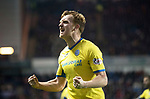 Rangers v St Johnstone…16.12.17…  Ibrox…  SPFL<br />LIam Craig celebrates saints taking the lead<br />Picture by Graeme Hart. <br />Copyright Perthshire Picture Agency<br />Tel: 01738 623350  Mobile: 07990 594431
