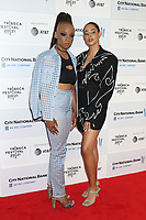 NEW YORK, NEW YORK - JUNE 10: Giselle Bailey and Nneka Onuorah at the 2021 Tribeca Festival Premiere of Legend Of The Underground at Brookfield Place on June 10, 2021 in New York City.  Credit: RW/MediaPunch