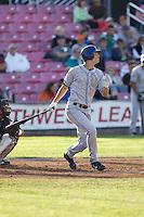 July 7, 2009: Tri-City Dust Devils outfielder Tim Wheeler at-bat during a Northwest League game against the Salem-Keizer Volcanoes at Volcanoes Stadium in Salem, Oregon.