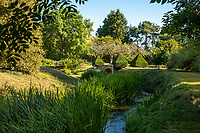 BNPS.co.uk (01202) 558833. <br /> Pic: Savills/BNPS<br /> <br /> A 16th century home with a 700-year-old moat is on the market for £2.75m.<br /> <br /> Sheepbridge Court is Grade II* listed and the moat around it, which was built about 300 years before the house, is a scheduled ancient monument.<br /> <br /> The six-bedroom property is full of period charm with its 16th century newel staircase and moulded timbers, but also has modern additions like a boiling water tap and underfloor