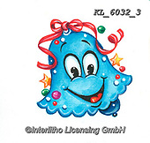 CHRISTMAS SYMBOLS, WEIHNACHTEN SYMBOLE, NAVIDAD SÍMBOLOS, paintings+++++,KL6032/3,#xx# ,sticker,stickers