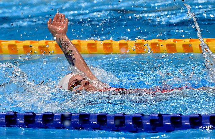 Camille Bérubé, Tokyo 2020 - Para Swimming // Paranatation.<br /> Camille Bérubé competes in the 200m IM S7 // Camille Bérubé participe au 200m IM S7. 08/27/2021.