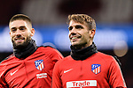 during the La Liga 2017-18 match between Atletico de Madrid and Deportivo Alaves at Wanda Metropolitano Stadium on 16 December 2017 in Madrid, Spain. Photo by Diego Souto / Power Sport Images