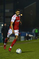 Fleetwood Town's Victor Nirennold during the The Checkatrade Trophy match between Bury and Fleetwood Town at Gigg Lane, Bury, England on 9 January 2018. Photo by Juel Miah/PRiME Media Images.